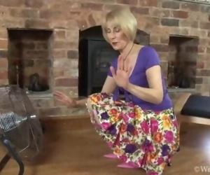 British Mom Vivien Goodman naughty in Liverpool