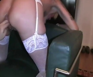 Extreme anal en pussy fisting