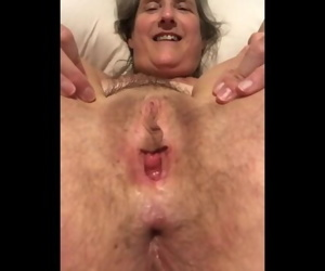 60 year old granny mom milf mature gilf tied up and..
