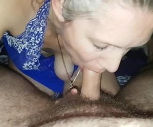 Sexy mature cum in mouth