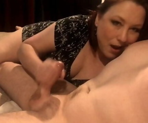 My Amazing Mature Wife Gives Epic Handjob With Nipple..
