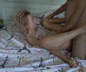 I fucked her tight ass and then came on her face !