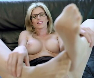 Cory Chase nylon feet seduction
