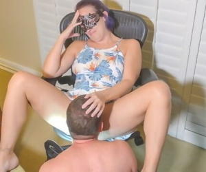 Petite Teen MILF Shows You New Dress - Makes You To Eat &..