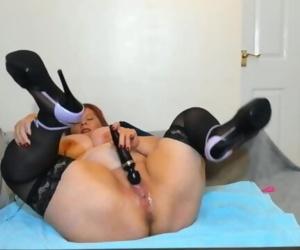 BBW Milf multiple huge squirting orgasms