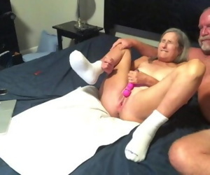 Hot Milf Dildos Wet Pussy Gets Fucked Doggy Style Two Big..