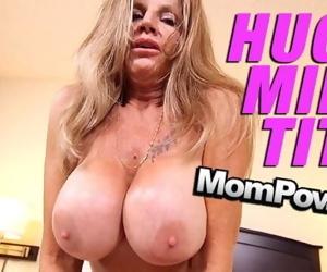 MomPov big tits old slutty cougar gilf cumslut getting..