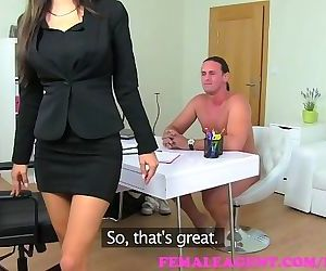 FemaleAgent. A former agents fuck becomes this sexy MILFs..