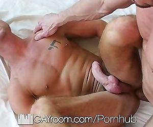GayRoom Myles Landon get his tight sweet ass fucked
