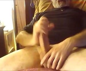 19 mature huge cumshots from sexy daddy
