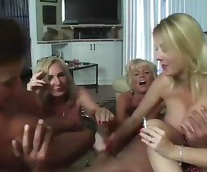 4 Old Cunts Jack Off Young Boy Meat