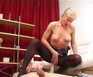 Russian mom fuck his boy