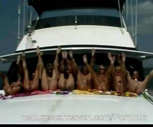 Grannys Yacht Orgy Part 6