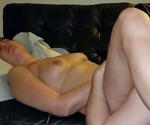 Slutwife makes hubby lick her pussy clean then gets..