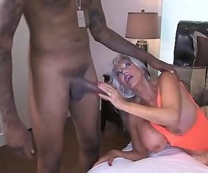 Hot MILF tricks a BBC Maintenance Man Sally Dangelo Shawn..
