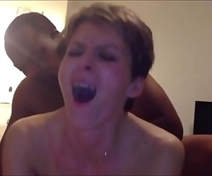 Real Horny Mature Wife Cuckolds her Husband 2 min
