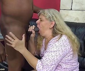 First time interracial fuck for 71 years old granny 12 min..
