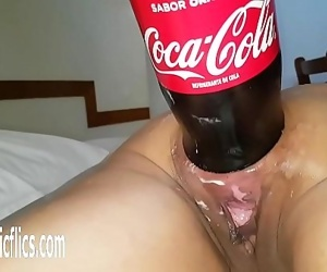 XXXL Anal cola bottle fucking destruction 96 sec 720p
