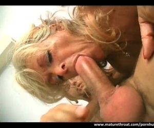 Ripe whore still has strength inside of her