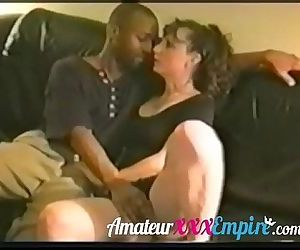Vintage interracial milf sex