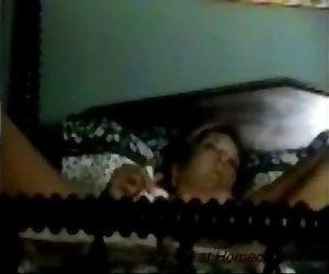 Hidden cam caught my mom having orgasm - 34 sec