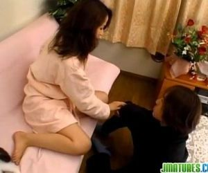 Yoshima deals toy up her wet vag - 8 min