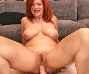 MILFTRIP Big Tit Redhead MILF Creams On Big Dick Fountain..