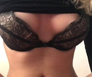 Grinding and rubbing wet pussy of step sister HUGE CUM LOAD