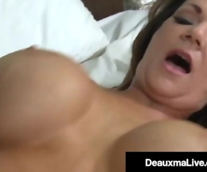 Dick Fucked Deauxma Mounts Young Studs Throbbing Hard Cock!