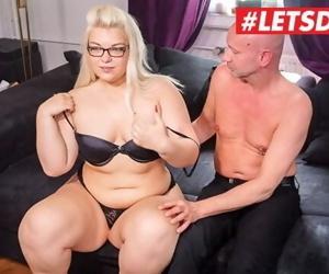 LETSDOEIT - Chubby German Teen Gets Filmed Fucking Her..