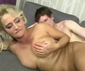 Hot gilf with Younger guy