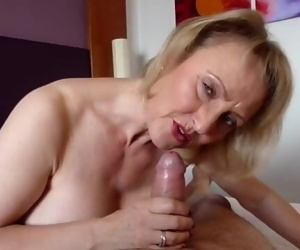 With age, cums experience.
