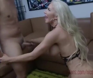 Real Amateur Mature Cougar in Hotel Younger Guy