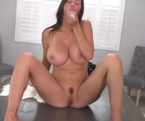 Alexis Fawx Solo - Rubbing her Pink Pussy