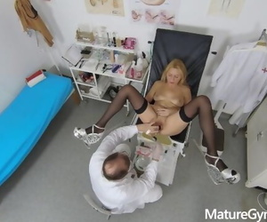 Sexy Mature Woman Caught Naked in the Office of Freaky..