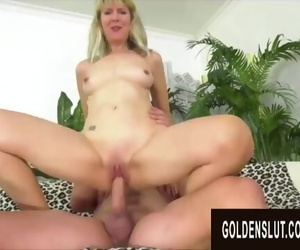 Golden Slut - Horny Older Cowgirls Compilation Part 19