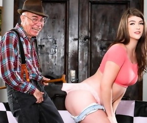 DevilsFilm Cute Teen Teaches her old Neighbor how to be a..