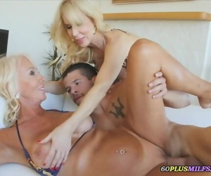 A Threesome with two Grannies