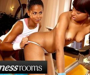 Fitness Rooms Big Booty Ebony Lesbians Sade Rose Isabella..