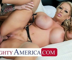 Naughty America - Alura Jensons Experience gives Quinton..