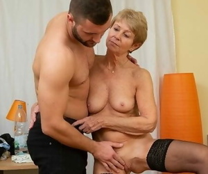 MATURE4K Woman is old but still wants to Fuck so Boss..
