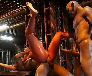 Savage Monster 3D SexPerils of Lara Croft Part 4 3d porn game 6 min HD