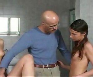 Lisa hotlipps and Vanessa Virgin - 8 min