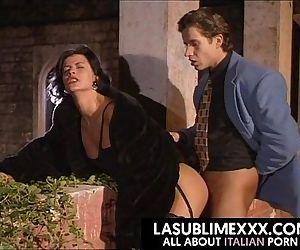 Scopata sul terrazzo! Vintage Italiano