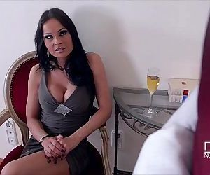Hungarian Nymphos share a Black Monster Cock for Anal SexHD