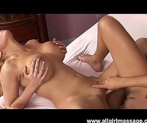 Big Tits Blonde Lesbian Shower and Pussy Licking
