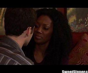 James Deen Pounds a Gorgeous Ebony Girl