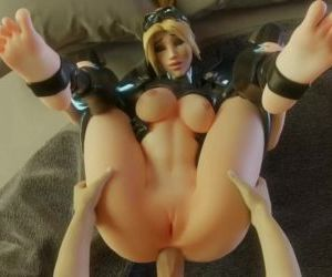 Nova Widow gets fucked hard in the ass