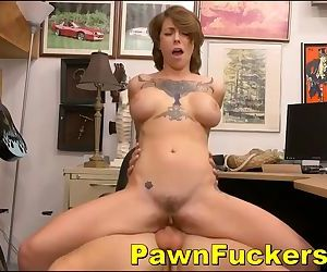 Amazing Titted Teenager Gets Money From Sly Store Manager