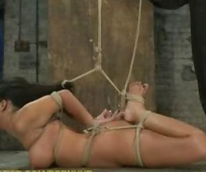 Ava Devine in Hogtied.